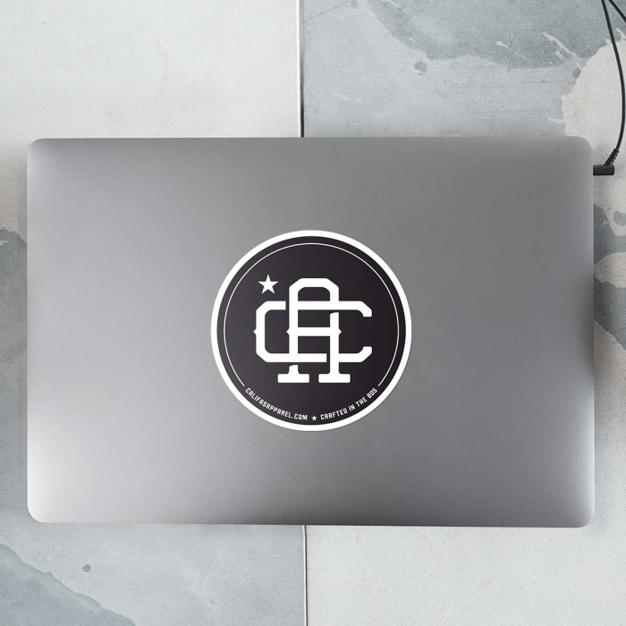 Sticker Product Califas laptop