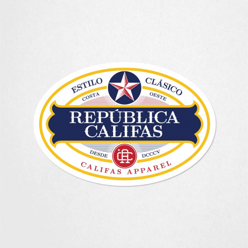 Sticker Product Republica large