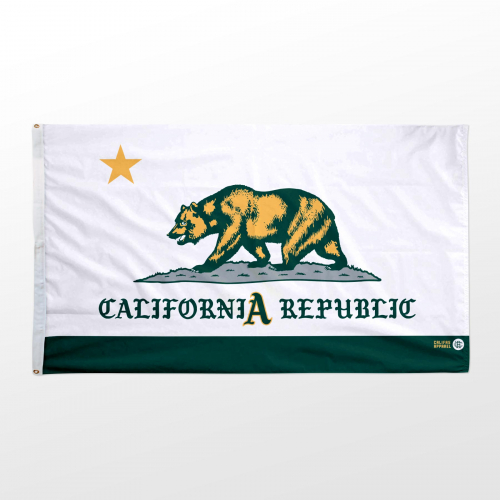 California flag 3x5 Athletics updated