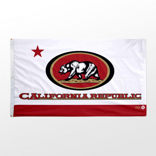 California flag 3x5 Niners wide