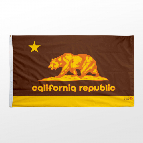 California flag 3x5 Padres retro