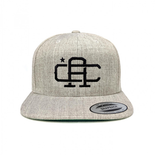 Califas CA snapback heather front