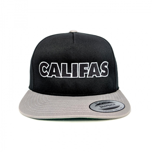 Pachuco snapback silver_black front