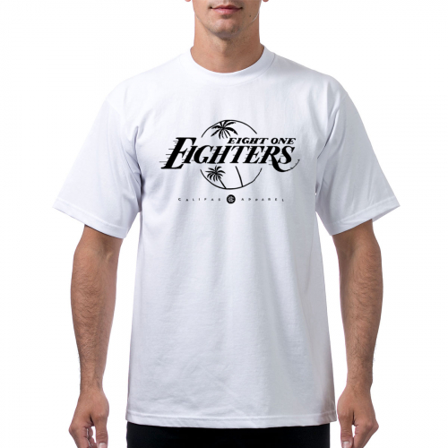 tshirt ProClub Lakers 818 bnw white
